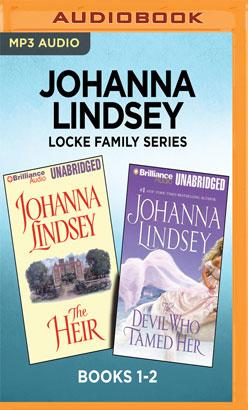 Johanna Lindsey Locke Family Series: Books 1-2