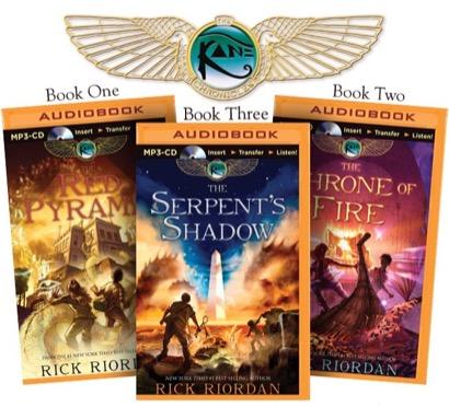 Rick Riordan's The Kane Chronicles (Bundle)