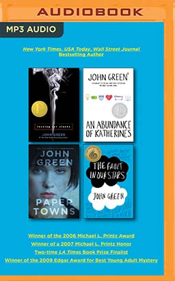 John Green Audiobook Collection on MP3-CD