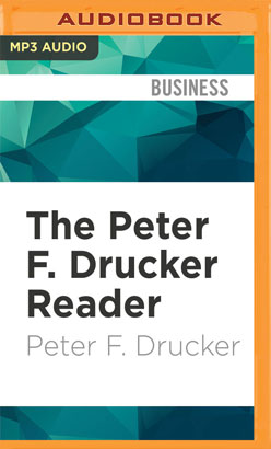 Peter F. Drucker Reader, The
