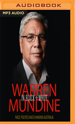 Warren Mundine in Black and White