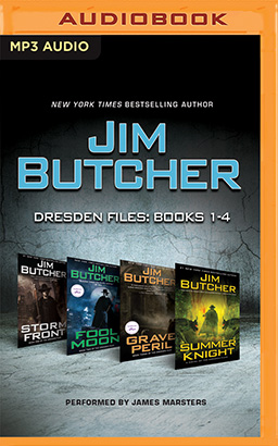 Jim Butcher - Dresden Files: Books 1-4