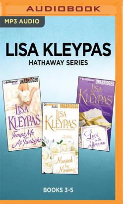 Lisa Kleypas Hathaway Series: Books 3-5