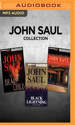 John Saul Collection - Brainchild, Black Lightning, The Manhattan Club