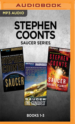 Stephen Coonts Saucer Series: Books 1-3