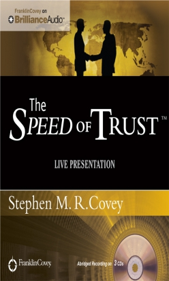 Speed of Trust - Live Performance, The