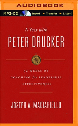 Year with Peter Drucker, A