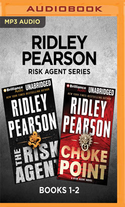 Ridley Pearson Risk Agent Series: Books 1-2