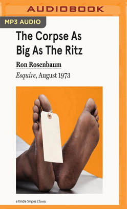 Corpse as Big as the Ritz, The