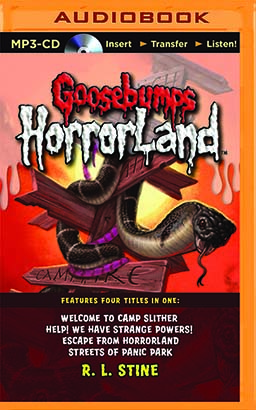 Goosebumps HorrorLand Boxed Set #3