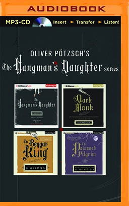 Oliver Pötzsch Hangman's Daughter Series 4-in-1 MP3-CD Collection