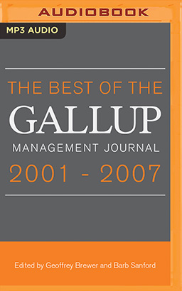 Best of the Gallup Management Journal 2001-2007, The
