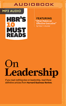 HBR's 10 Must Reads on Leadership