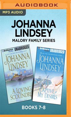 Johanna Lindsey Malory Family Series: Books 7-8